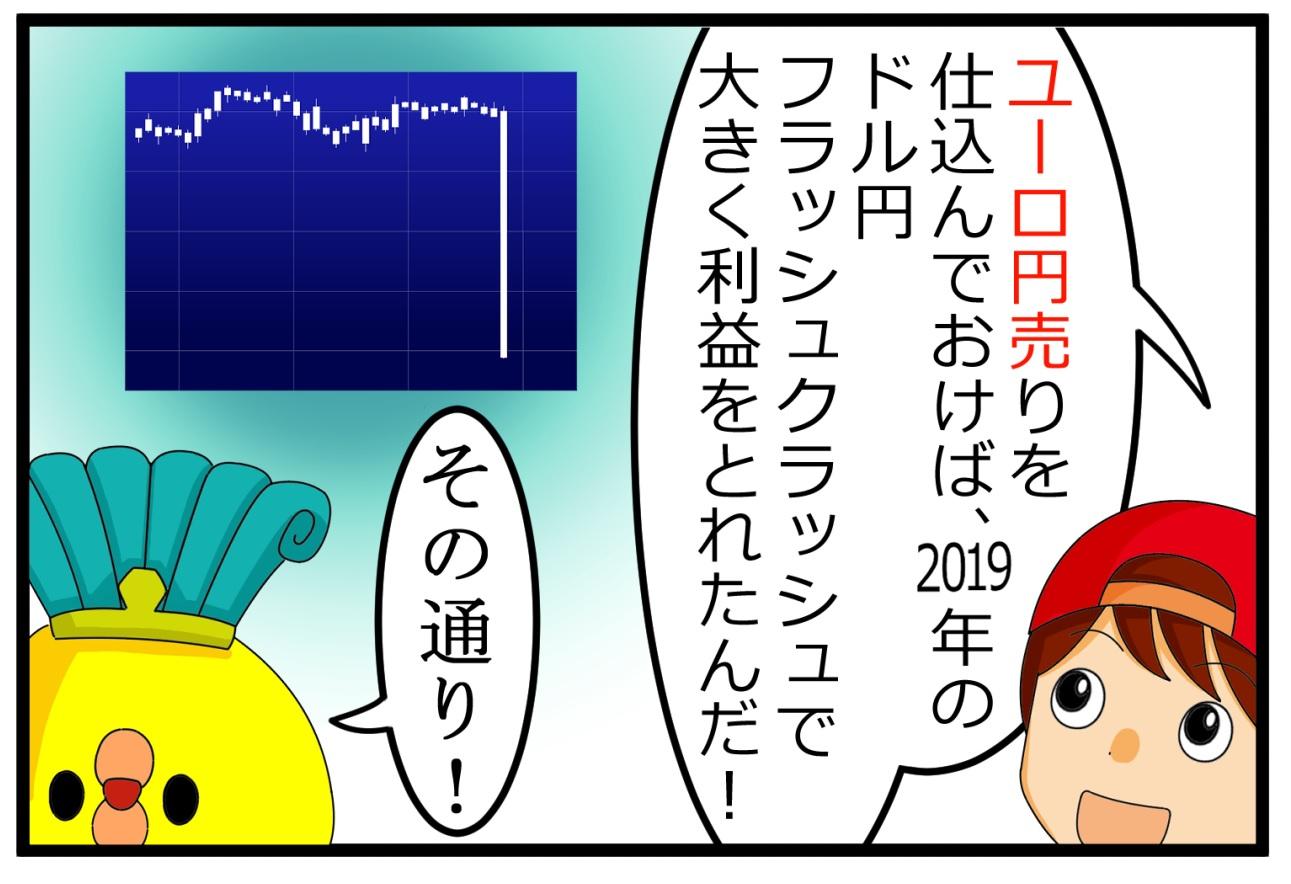 ドル円フラッシュクラッシュ対策