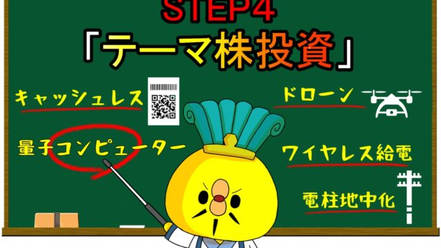 STEP4「テーマ株投資」