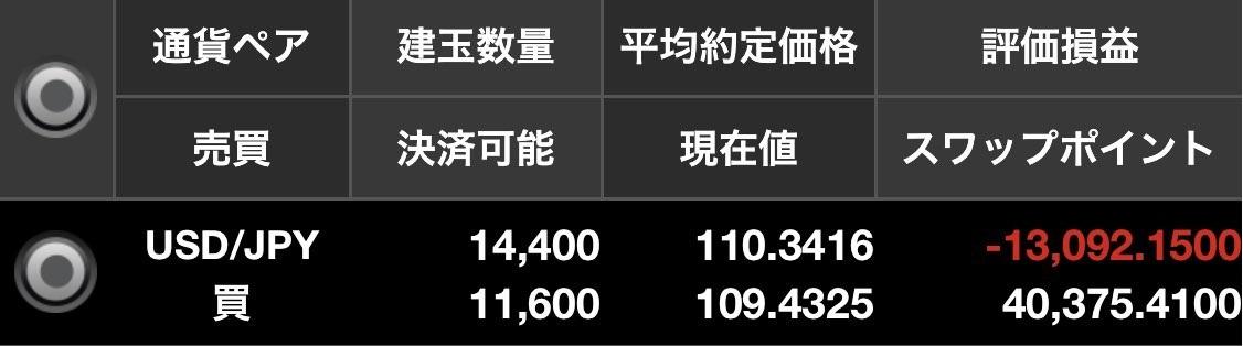 ドル円残高照会2019年1月